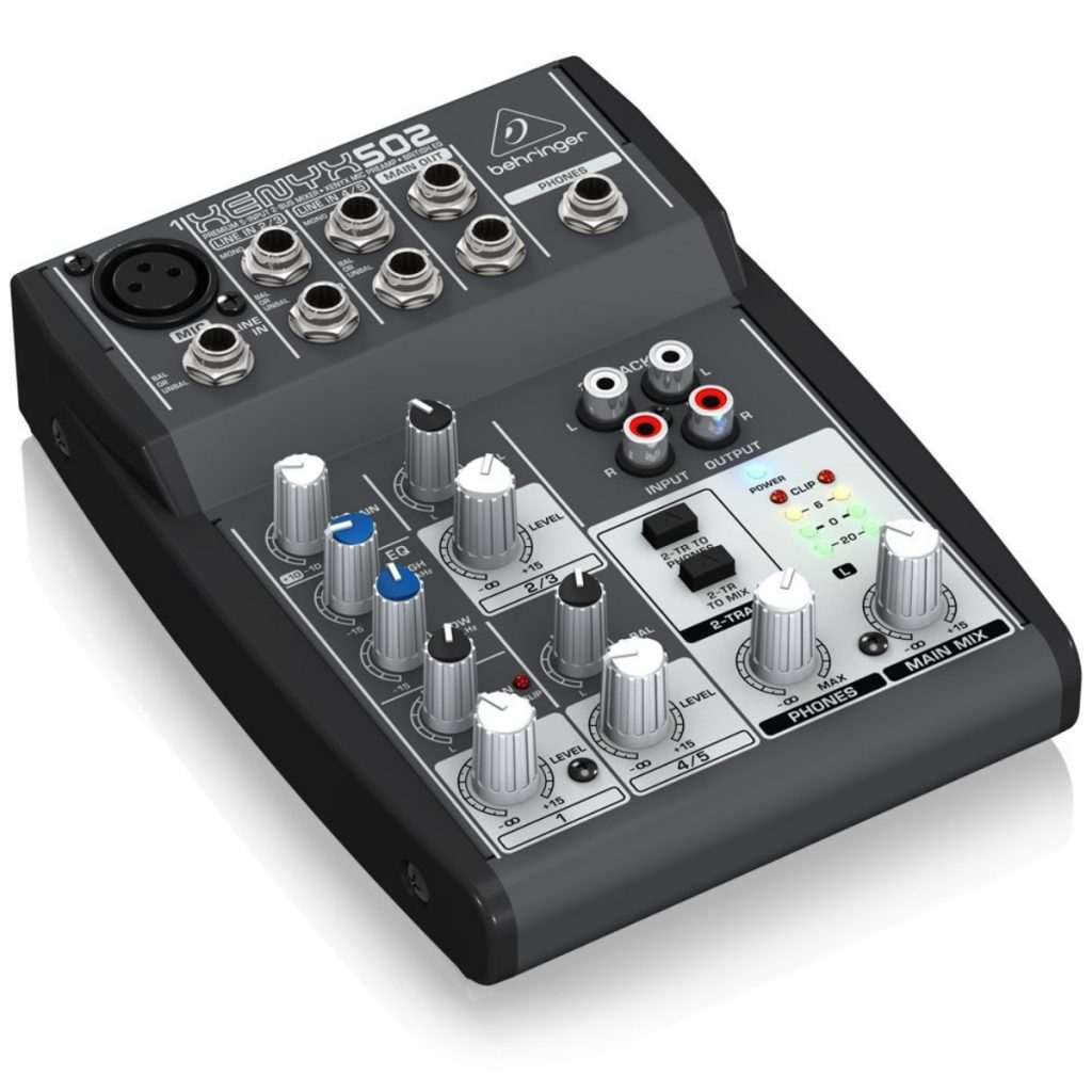 Opiniones Behringer 502 USB 3 canales