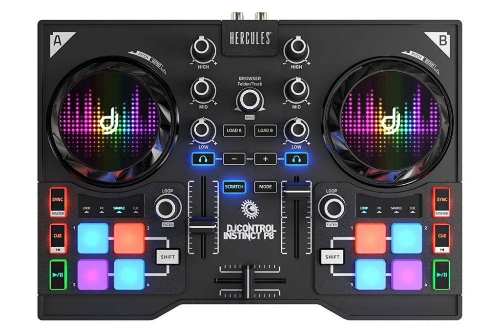 Comprar mesa de mezclas Hercules DJ Control Instinct P8