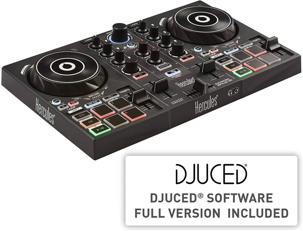 Review Hercules DJ Control Inpulse 200