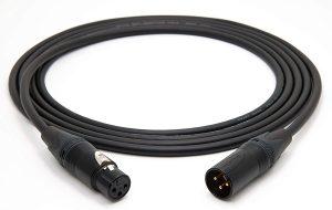 Cables XLR para estudio de grabación casero