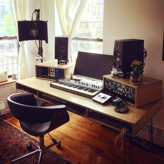 Como montar home studio