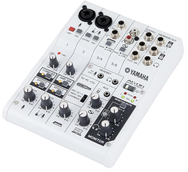 Reseña Yamaha AG06
